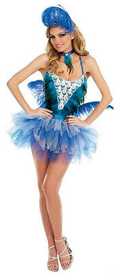 Blue Bird Beauty Sexy Adult Costume XL