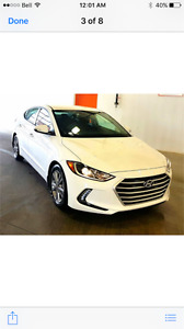 2017 Hyundai Elantra GL Sedan Buy or Lease options private avail