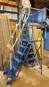 USED ROLLING LADDER ON SALE. MECHANICS MOBILE LADDER. SAVE $ 315 Kitchener / Waterloo Kitchener Area image 2