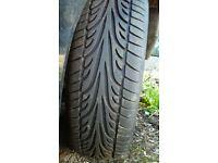 "Set of wheels, 5x100, 17"", tyres less than 100mi."