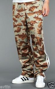 ADIDAS-ADI-FIREBIRD-CAMO-BROWN-WHITE-ARMY-TROUSERS-PANTS-M-L-XL