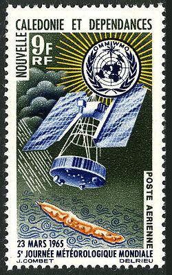 New Caledonia C39, MNH. Nimbus Weather Satellite. World Meteorological Day, 1965