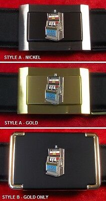 Slot Machine - Custom Belt Buckle