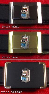 Slot Machine - Custom Belt Buckle
