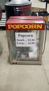 UNRESERVED ONLINE AUCTION  Gold Rush Commercial Popcorn Machine