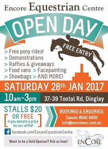 Encore Equestrian Centre Open Day - FREE EVENT FOR ALL AGES Dingley Village Kingston Area Preview
