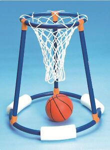 Tall Boy Floating Basketball Hoop Swimming Pool Float Ball ...