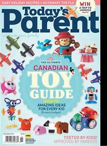 Searching for Today's Parent November 2012 Issue