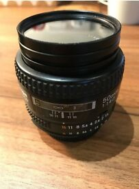 Nikon 50mm f/1.4 AF-D NIKKOR