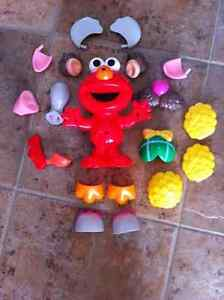 Talking Elmo Potato Head