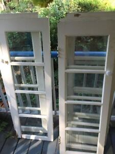 4 Glass Panel Doors for Sale