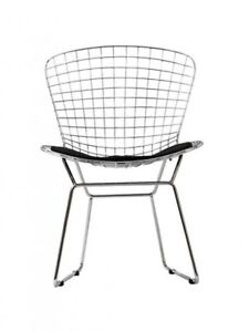 FS: h.bertoia wire mesh dining side chairs * SPECIAL *