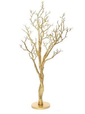 120CM GOLD  MANZANITA WEDDING WISH TREE , CHEAPEST ON EBAY AND GREAT - Wedding Wish Tree