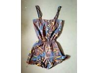Topshop playsuit size 10