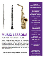 Music Lessons for All Ages and Styles