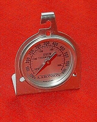 Aronson Oven Thermometer Analog MADE IN THE USA