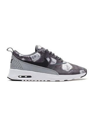 599408-013 Women's Nike Air Max Thea Print Shoe!! BLACK/BLACK/WOLF