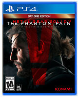 NEW Metal Gear Solid V: The Phantom Pain Day One Edition PS4