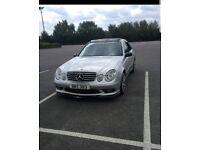 Mercedes Benz E270 Cdi Avantgarde 177BHP AMG Replica, Pan Roof, Sensors, Sat Nav