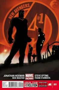 NEW AVENGERS Vol. 3 #1 to 12