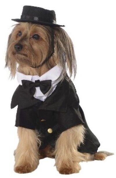 S-XXXL Large Pet Dog Cat Tuexdo Wedding Suit Fancy Dress Costume Outfit Clothes 2