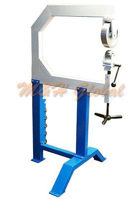 28 Throat English Wheel Sheet Metal Planishing Anvil Shrinker Stretcher Hammer
