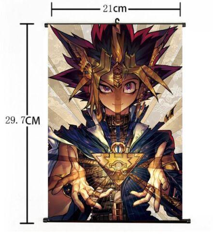 Anime Yu-Gi-Oh Zexal Yuma Tsukumo Duel Monster Home Decor Poster Wall Scroll 007