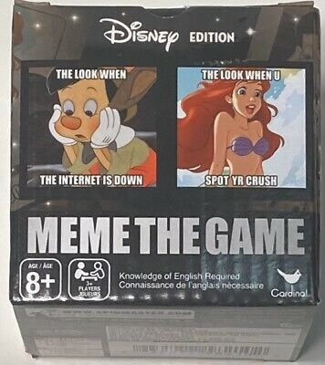 Mini Card Games (Disney Edition Meme The Game Mini Boxed Games by)