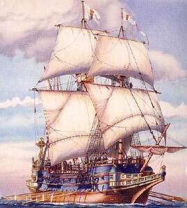 Heller - Galion Espagnol 1600 Segelschiff 1:200 Modell-Bausatz Spanische Galeone