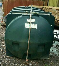 Outdoor fuel tank