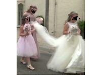 WEDDING....FLOWEGIRLS BROOCH BOUQUET