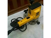 DeWalt 240v router. Good condition and perfect working order..
