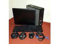 FREE MONITOR Dell Optiplex 780 PC Computer SFF Intel 6GB 160GB Win10Pro