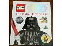 Lego star wars visual dictionary book with mini figure