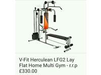 Multigym machine - weight lifting- training