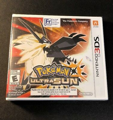 Pokemon Ultra Sun (3DS) NEW