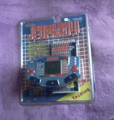 Jeopardy Talking Tiger Electronic Lcd Game Handheld