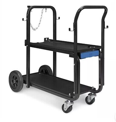 Miller Electric Mfg Llc 301239 Miller Heavy-duty Welder Cart Cylinder Rack