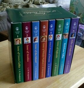 Anne of Green Gables - 8 book softcover set