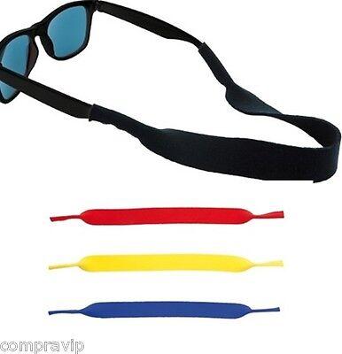 Pack mit 4 Bänder Schnur aus Neopren für Brillen