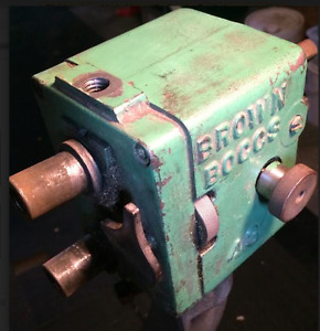 BROWN & BOGGS #44 & #43 sheet metal equipment machine & parts