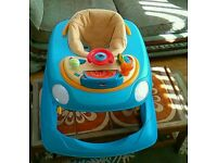Chicco car baby walker