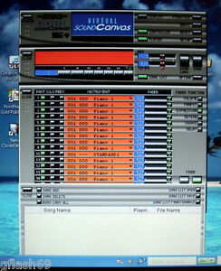 Roland Virtual Sound Canvas 3 -Virtual MIDI Synth Player AND MIDI Editor.
