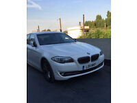 BMW 5 Series F10 2011 520d Alpine White 1 Owner Since New Low Mileage 65,000. BMW Service History.