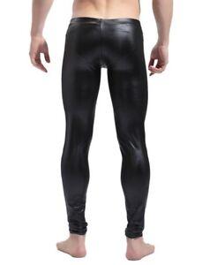 Mens compression tights leggings underwear athletic under layer gym
