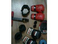 Boxing fitness bundle £25 adidas ,pro power etc