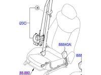 Hyundai i30 N/S/F Seat Belt Buckle 88840A6000RY
