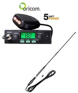 ORICOM-UHF028-UHF-RADIO-80-CHANNEL-5W-AT870-UHF-FGLASS-ANTENNA-PACK-6-5DB