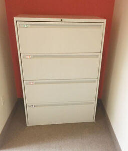 4 Drawer Lateral Legal File Cabinet