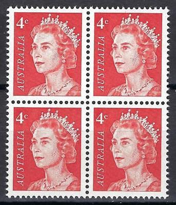 Australia 1966 Sc# 397 Queen Elizabeth II block 4 MNH